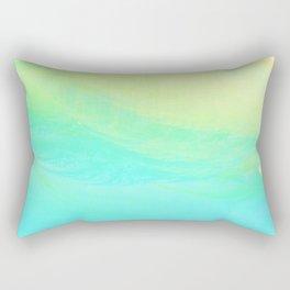 Aqua Lemon Marine Coast Rectangular Pillow