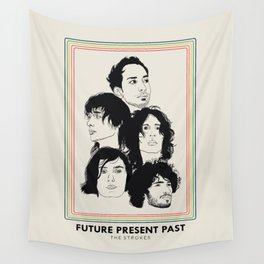 The Strokes: Future Present Past Wall Tapestry