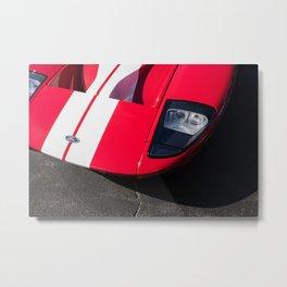 Red GT Metal Print