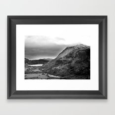 Mount Snowdon, Snowdonia, Wales. Framed Art Print
