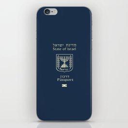 ISRAELI PASSPORT  iPhone Skin