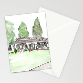 Merrick Rd, Custom watercolor Stationery Cards