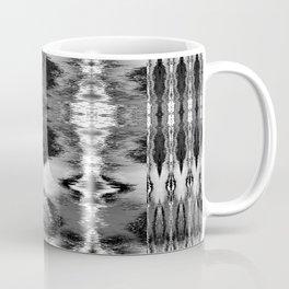 B&W Watercolor Ikat Coffee Mug