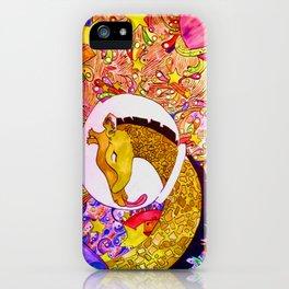 Space Giraffe iPhone Case