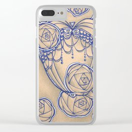 Fancy Clear iPhone Case