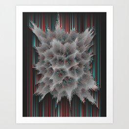 The Life Fraction No.01 Art Print