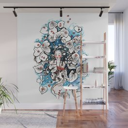 Lady Tranquility Wall Mural