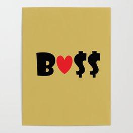 Boss (gold) Poster