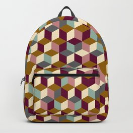 Cubic Pattern Backpack