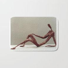 Supine by Shimon Drory Bath Mat