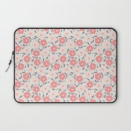 Pink and red flowers Laptop Sleeve