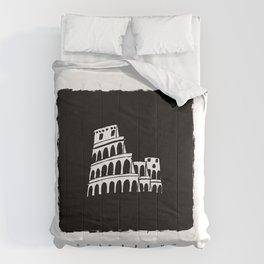 Colosseum in ink Comforters