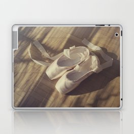Ballet dance shoes Laptop & iPad Skin