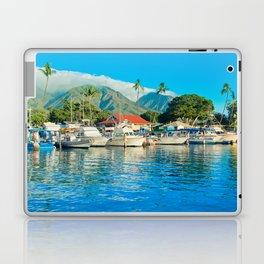 Lāhainā Marina Sunset Maui Hawaii Laptop & iPad Skin