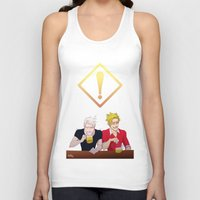 hetalia Tank Tops featuring APH: Beer Friends by Jackce