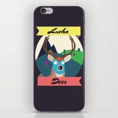 Luchadeer iPhone & iPod Skin