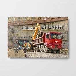 Monte Carlo Construction Metal Print