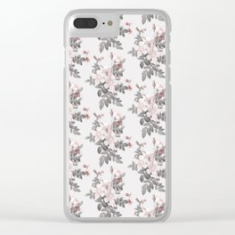 Delicately rough Clear iPhone Case