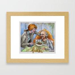 FAKER Framed Art Print