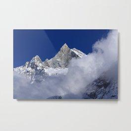 Himalayan Peak Metal Print