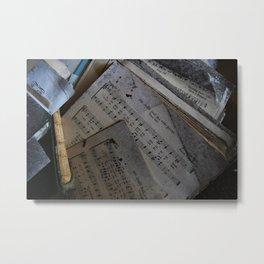 Crumbling Tower Metal Print