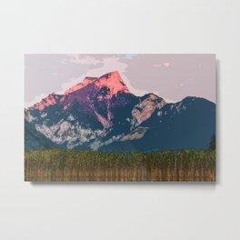 Vast Mountain Metal Print