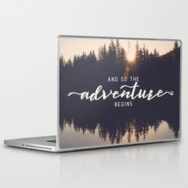 And So the Adventure Begins II Laptop & iPad Skin