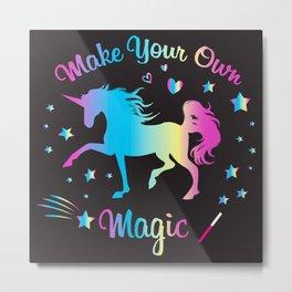 Make Your Own Magic 2 Metal Print