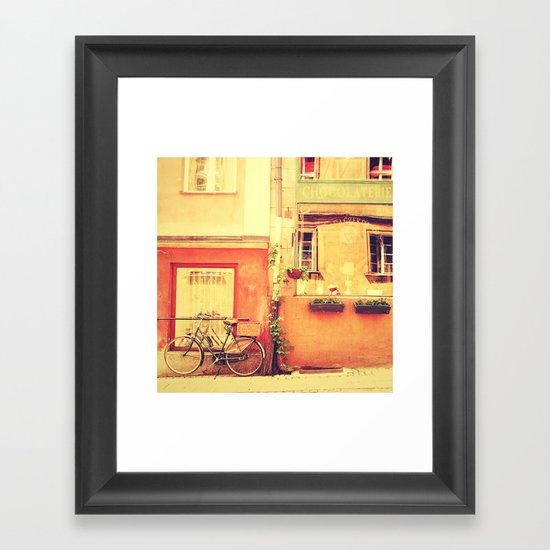 Chocolaterie I Travel Photography Framed Art Print