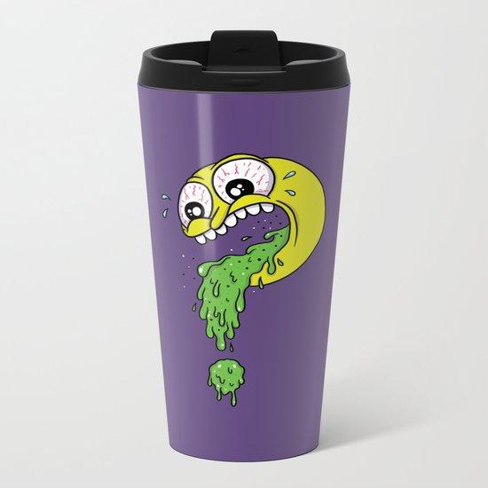 Barf? Metal Travel Mug