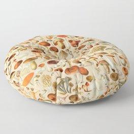 Vintage Mushroom Designs Collection Floor Pillow