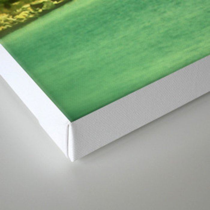 Across the Sound Canvas Print