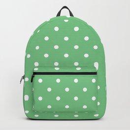 Sage Polka Dots Backpack