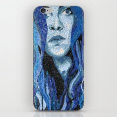 Of Water - Monochromatic Mosaic iPhone & iPod Skin
