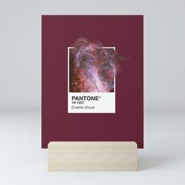 PANTONE SERIES – COSMIC CLOUD Mini Art Print