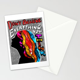 Don't Believe Everything You Think - Mental Health Awareness Stationery Cards