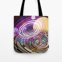 Outer Limit - Purple Tote Bag