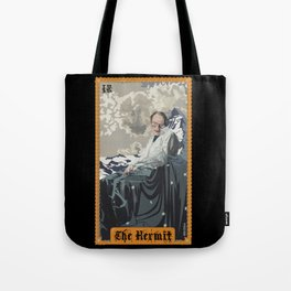 "Celebrity Tarot: Stephen Hawking as ""The Hermit"" Tote Bag"