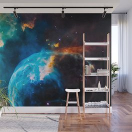 Bubble Nebula, Galaxy Background, Universe Large Print, Space Wall Art Decor, Deep Space Poster Wall Mural