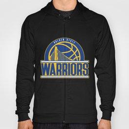 Warriors vintage basketball logo Hoody