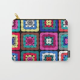 Granny Square Carry-All Pouch
