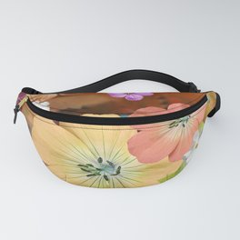 The fairy will come out soon #flower #combination Fanny Pack