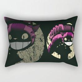 Cheshire no to toro (reworked) Rectangular Pillow
