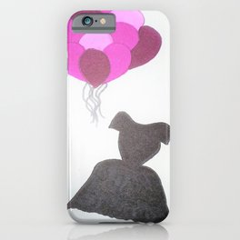 Ode to Audrey iPhone Case