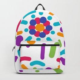 Colorful explosión Backpack