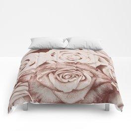Latte roses Comforters