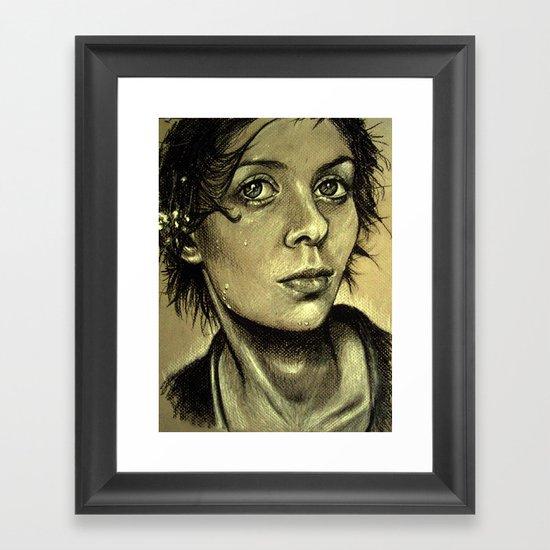 Drenched Breath (VIDEO IN DESCRIPTION!) Framed Art Print