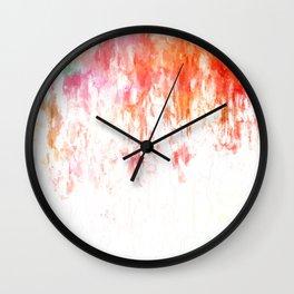 Sorbet Summer Wall Clock
