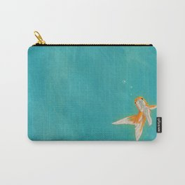 Goldfish in the ocean Carry-All Pouch
