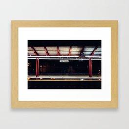 San Jose Diridon Caltrain Station Framed Art Print